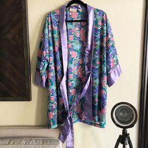 Victoria's Secret / Floral Kimono Robe